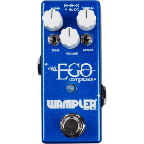 Wampler Pedals Mini Ego Compressor Guitar Effects Pedal