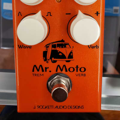 Used J. Rockett Audio Designs - Mr. Moto - Tremolo & Reverb Pedal for sale
