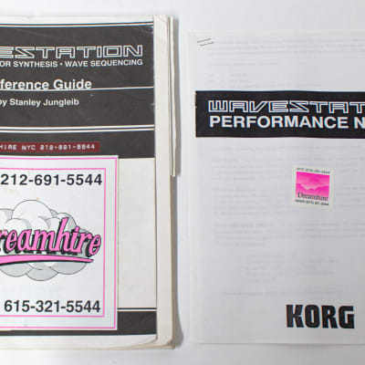 Korg Wavestation Advanced Vector Synthesis Reference Guide by Stanley Jungleib