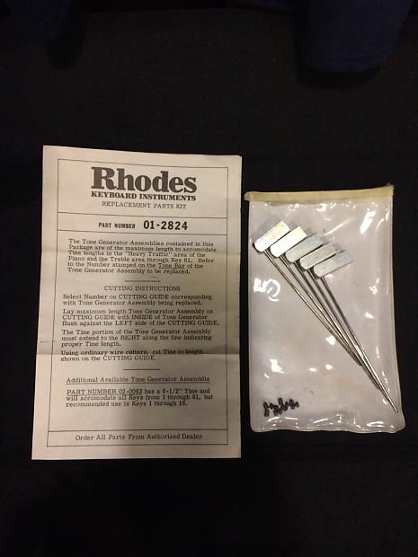 Fender Rhodes piano Tines Tone generators 01-2824 1970's