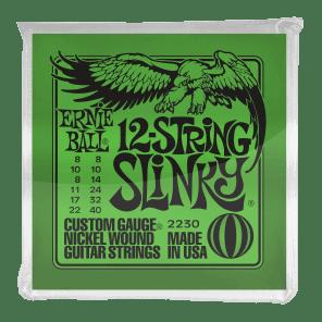 Ernie Ball 12-String Slinky Nickel-wound Electric Guitar Strings P02230