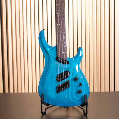 Ormsby SX 6 Carved Top 2020 Maya Blue Candy (Run 10) for sale