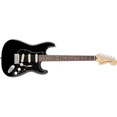 Fender Deluxe Stratocaster Black for sale