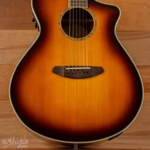 Breedlove Pursuit Concert Blackwood, Gloss Sunburst, CE USB w/ Bag for sale