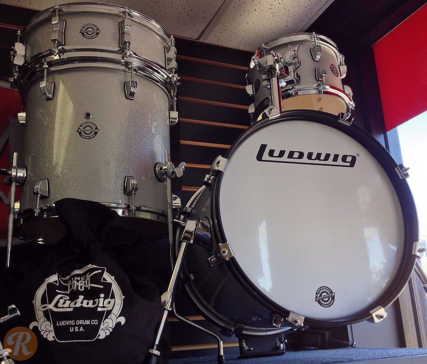 ludwig questlove breakbeats kit 16 10 reverb. Black Bedroom Furniture Sets. Home Design Ideas
