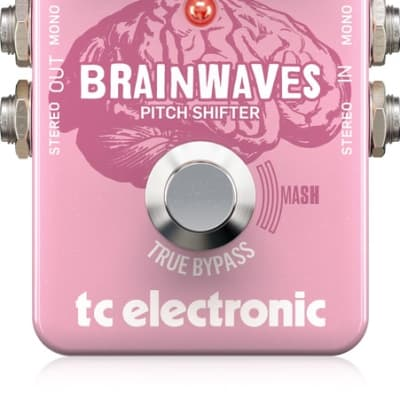 New Open Box TC Electronic Brainwaves Pitch Shifter Guitar Effects Pedal!