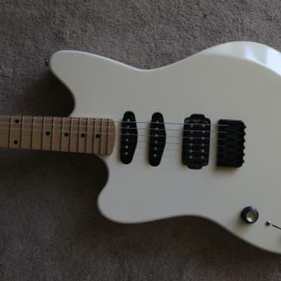 Left Handed Moniker Zuma w/ Dimarzio pickups - custom offset guitar for sale