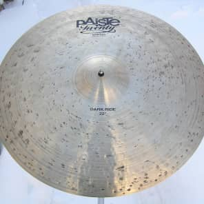 """Paiste 22"""" Masters Dark Ride Cymbal Traditional"""