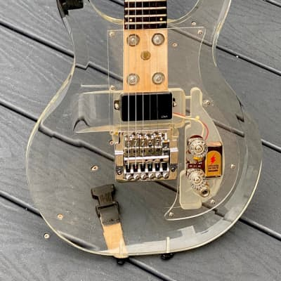 Dan Armstrong Lucite Guitar 1970 affordable w/modern Hair Band mods ! for sale