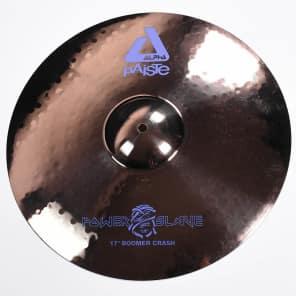 "Paiste 17"" Alpha Boomer Nicko McBrain Signature Crash Cymbal"