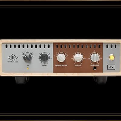Universal Audio Ox Amp Top Box Premium reactive load box and Guitar recording system for sale