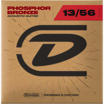Dunlop Acoustic Phosphor Bronze Guitar Strings 13-56, DAP1356