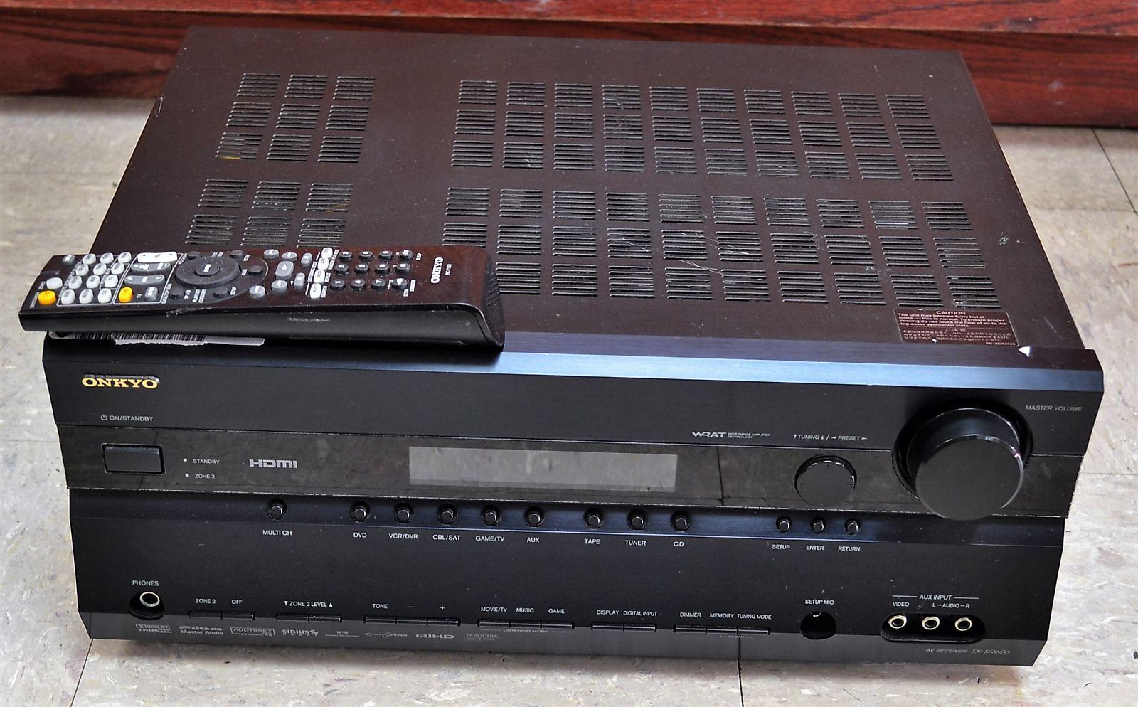 Onkyo TX-SR606 7.1 AV Amplifier Receiver (Used) Xznzhs1mrxyz2scsojpk