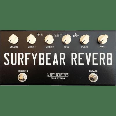 Surfy Industries SurfyBear Compact Tank Black Reverb Guitar Effect Pedal