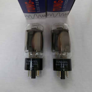 New 2x TungSol 6L6GC STR / 6L6   Matched Pair / Duet / Two Tubes   Free Ship
