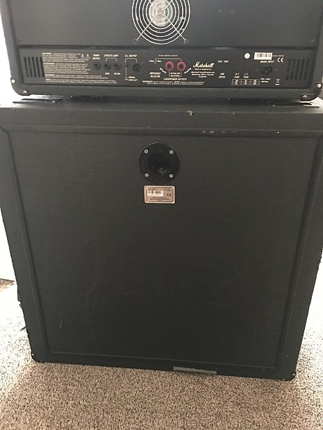 Description; Shop Policies. Marshall VBC412 bass cabinet ... - Marshall VBC412 Bass Cabinet Reverb