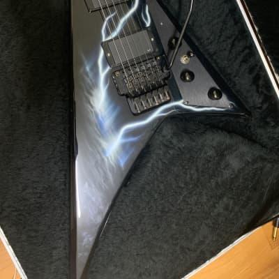 Jackson USA Select Series RR1 Randy Rhoads Lightening Sky Rare Model / Worldwide shipping