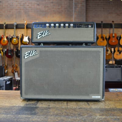 Elk Custom 30 Tube Head and Matching Speaker Cabinet  1960's for sale