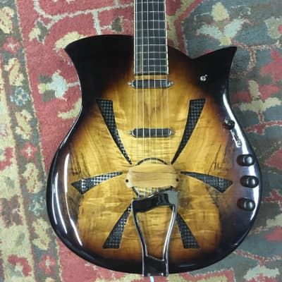 Maudal Musical Machines Fat Boy Acoustic/Electric Resonator 2017 for sale
