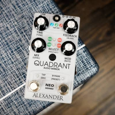 Alexander Quadrant Audio Mirror