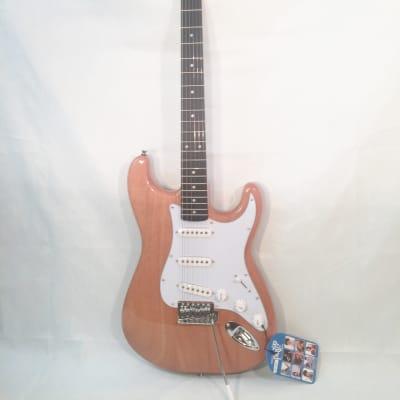 Stadium Electric Guitar NY9303 NEW Natural-Quality Hardware-w/Shop Setup
