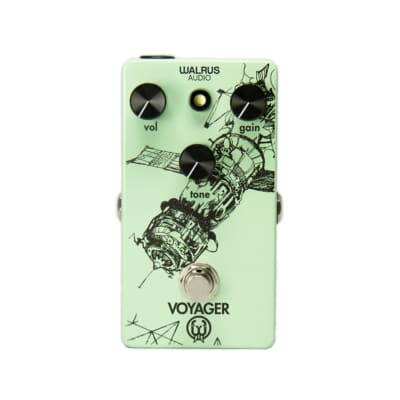 Walrus Audio Voyager Overdrive Guitar Effects Pedal