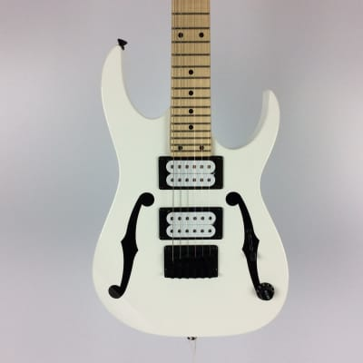Used Ibanez PGM MIKRO Electric Guitar White for sale