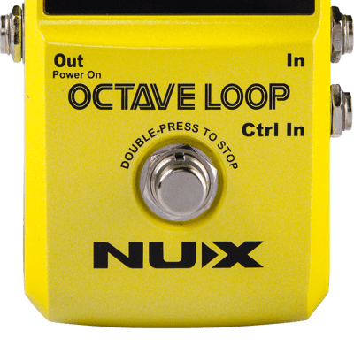 NUX Octave Loop Pedal  + Free Shipping