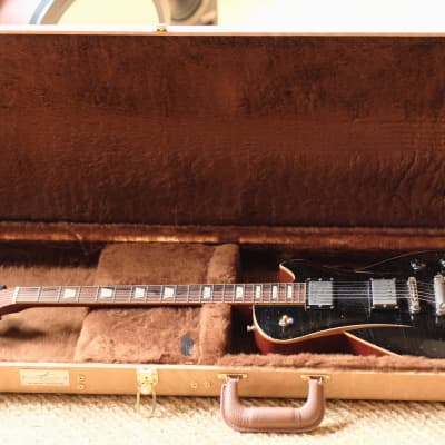 Hartung Embrace Worntage, 1958 Relic 2018 Black over Cherry for sale