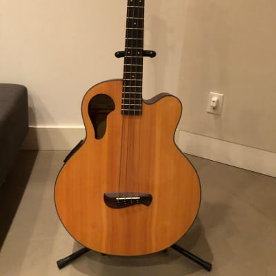 Olympia Acoustic / Electric Bass - OB3CE with Hardshell Case for sale