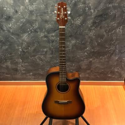 Takamine F340SC SBS Satin Sunburst Dreadnought Acoustic Guitar