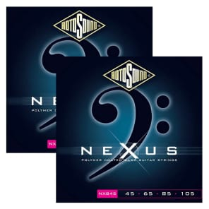 Rotosound NXB45 Nexus Polymer Coated Bass Strings - Light (45-105)