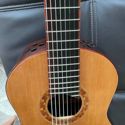Rich DiCarlo 8 String Classical Guitar 2006 French Polish for sale