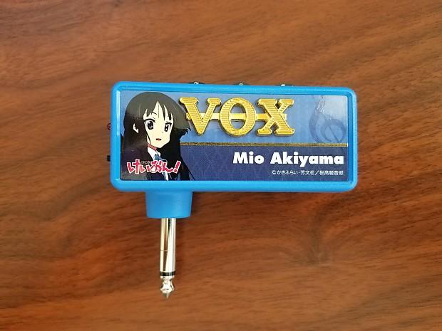 VOX Unplug K-ON Mio Akiyama model first for bass Headphone guitar amplifier