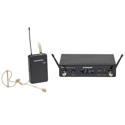 Samson Concert 99 Frequency-Agile UHF Wireless Earset Mic System - K Band (470–494 MHz)