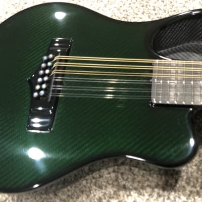 Emerald Amicus acoustic/electric short scale graphite 12 string guitar/mandolin 2020 for sale