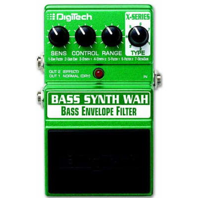 Digitech Bass Synth Wah