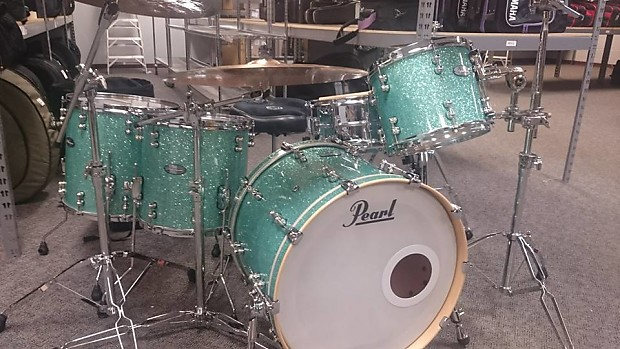 pearl reference pure music city custom 2016 413 turquoise reverb. Black Bedroom Furniture Sets. Home Design Ideas