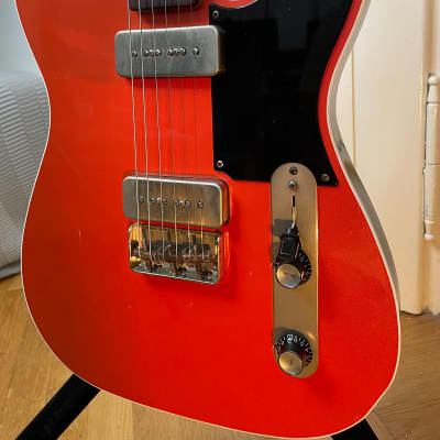 Macmull  Heartbreaker P90 Telecaster  2019 Royal Red for sale