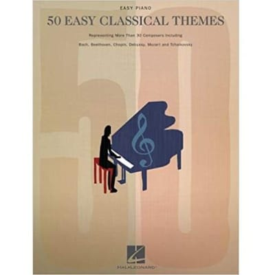 50 Easy Classical Themes (Easy Piano Songbook)