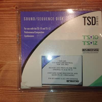 Ensoniq TSD-1003 TS-10 TS-12 floppy disks sound library