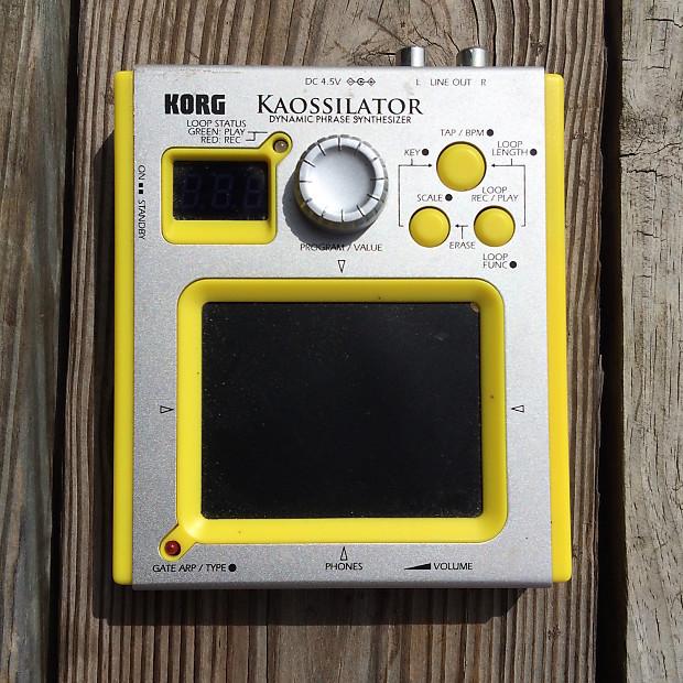 KORG KAOSSILATOR KO-1 DYNAMIC PHRASE SYNTHESIZER 32GB SD SDHC MEMORY CARD