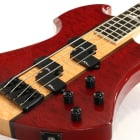 B C Rich Heritage Classic Mockingbird Bass Trans Red   - Free Shipping* image