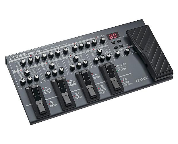 boss me 80 guitar multi effects processor used reverb. Black Bedroom Furniture Sets. Home Design Ideas