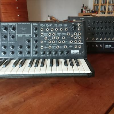 Korg MS-20 + SQ-10 1978 Black