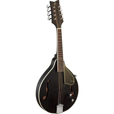 Ortega Guitars RMAE40S A-Style Series 8-String Mandoline, Black for sale