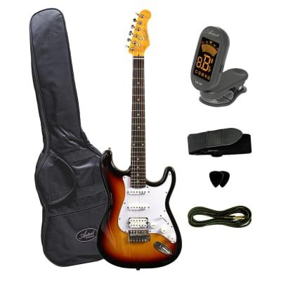 Artist STH Vintage Sunburst Electric Guitar + Humbucker for sale