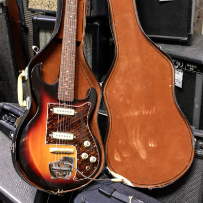 Hy-Lo Vintage 1964 Hoshino Ibanez Model 1502 Electric Guitar w/ Orig. Case for sale