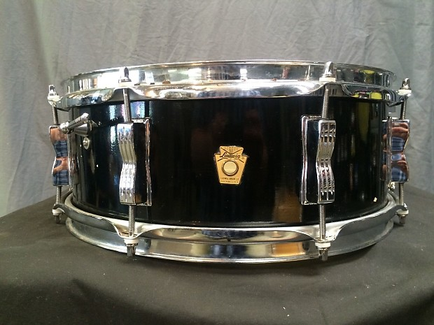vintage 1960 39 s ludwig black lacquer jazz festival snare reverb. Black Bedroom Furniture Sets. Home Design Ideas