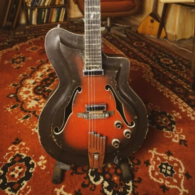 Cremona Kremona Electric Guitar Soviet USSR Hollow Body Archtop for sale